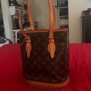 Louis Vuitton PM Shoulder Tote and Wallet